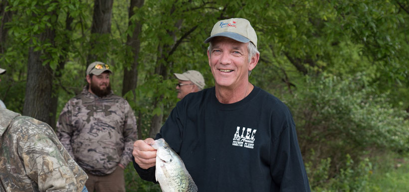 Mike smith with crappie